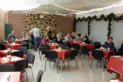 Der 50mtr Stand zur Caffeteria umfunktioniert